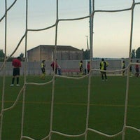 Photo taken at Camp De Futbol De St. Pere Pescador by Jaume S. on 5/27/2012