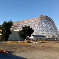 Photo taken at Hangar One (Building 1) by Charles on 8/6/2012