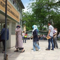 Photo taken at Kurtuluş Anadolu Lisesi by ferhat c. on 6/3/2012