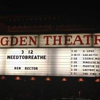 Photo taken at Ogden Theatre by Lindsay on 3/13/2012