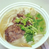 Photo taken at Lamb Noodle Soup by Lily T. on 8/8/2012