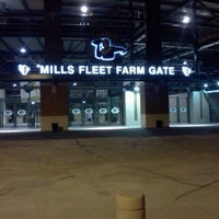 Photo taken at Mills Fleet Farm Gate @ Lambeau by Kurt J. on 8/15/2012