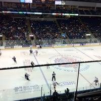 Photo taken at Webster Bank Arena by Joe L. on 2/5/2012