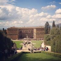 Photo taken at Giardino di Boboli by Krista R. on 4/16/2012