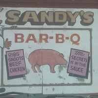 Photo taken at Sandy's Barbeque and More by Ladyb C. on 6/7/2012