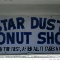 Photo taken at Stardust Donut Shop by Scott R. on 3/20/2012