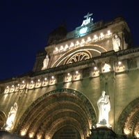 Photo taken at Cathedral-Basilica of the Immaculate Conception of Manila (Manila Cathedral) by Alexander C. on 4/5/2012