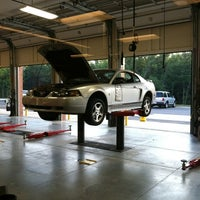 Photo taken at Firestone Complete Auto Care by Lance O. on 8/17/2012
