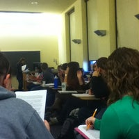 Photo taken at McElhaney Hall (IUP) by Lindsay B. on 2/17/2012