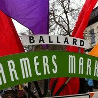 Photo taken at Ballard Farmer's Market by Courtney C. on 3/25/2012