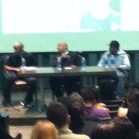 Photo taken at HBC Gifford Auditorium by Sebastian Z. on 3/22/2012