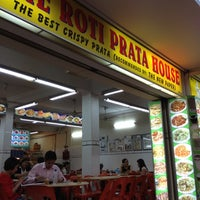 Photo taken at The Roti Prata House by Vincent L. on 5/3/2012