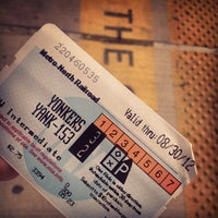 Photo taken at Yonkers Train Station - Metro North & Amtrak by Krysta T. on 8/17/2012
