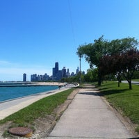 Photo taken at Chicago Lakefront by Kendra Z. on 5/21/2012