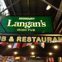 Photo taken at Langan's Pub & Restaurant by Katrina Eireen M. on 7/28/2012