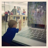 Photo taken at Apple Store, Chandler Fashion Center by Robert M. on 7/4/2012
