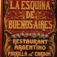 Photo taken at La Esquina de Buenos Aires by Silvia G. on 5/31/2012