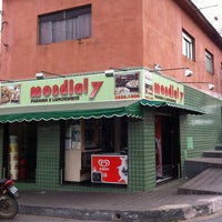 Photo taken at Mondialy Padaria E Lanchonete by Chris R. on 5/13/2012