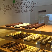 Photo taken at Sprinkles Cupcakes by Brittany B. on 3/21/2012