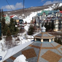 Photo taken at Station Mont Tremblant Resort by Sebastien C. on 3/9/2012