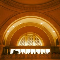 Photo taken at The Great Hall Balcony Bar at The Metropolitan Museum of Art by Sarah S. on 3/3/2012