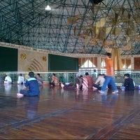 Photo taken at Masjid Agung Al-Ukhuwwah by Risman I. on 6/29/2012