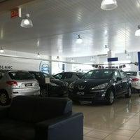 Photo taken at Peugeot Mont Blanc by Leonardo d. on 2/29/2012