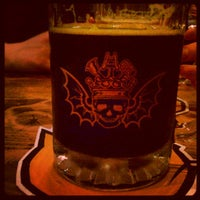 Photo taken at Three Floyds Brewery & Pub by Jim W. on 4/15/2012
