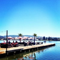 Photo taken at The Lake Chalet Seafood Bar & Grill by Dave S. on 4/21/2012