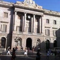Photo taken at Ajuntament de Barcelona by Quique L. on 8/9/2012
