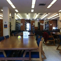 Photo taken at Engineering Library, Mudd Hall by Jake S. on 4/10/2012