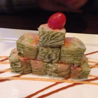 Photo taken at Ajisai Japanese Fusion by Caty T. on 4/22/2012