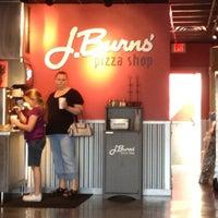 Photo taken at J Burns Pizza Shop by Lindsey R. on 2/11/2012
