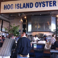 Photo taken at Hog Island Oyster Co. by Sean C. on 9/5/2012