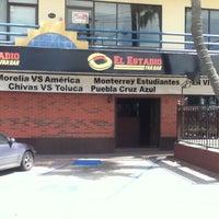 Photo taken at El Estadio Fan Bar by Fherzho P. on 3/23/2012