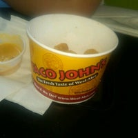 Photo taken at Taco John's by Kaitlyn Mollie Mikaela M. on 3/18/2012