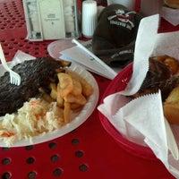 Photo taken at Dixie Pig Bar-B-Q by Chris B. on 5/6/2012