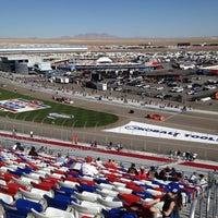 Photo taken at Las Vegas Motor Speedway by Dave M. on 3/11/2012