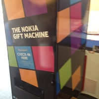 Photo taken at Nokia Gift Machine @ App Campus – Disrupt San Fran by Toby D. on 6/20/2012
