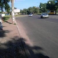 Photo taken at Остановка «Городок» by Artem P. on 5/21/2012