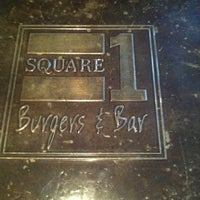 Photo taken at Square 1 Burgers & Bar by Sean B. on 3/23/2012