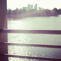 Photo taken at Lady Bird Lake Trail by Yaneli H. on 8/30/2012