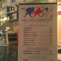 Photo taken at Gaulart & Maliclet French Café Fast and French Inc. by John G. on 4/23/2012