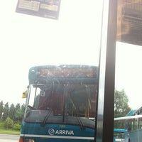Photo taken at Telford Bus Depot by Nick W. on 8/7/2012