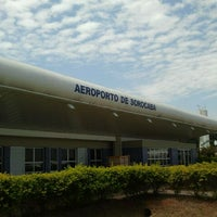 Photo taken at Aeroporto Estadual Bertram Luiz Leupolz (SOD) by Henrique J. on 3/10/2012