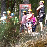 Photo taken at Adrena LINE Zip Line Adventure Tours by Dieter G. on 8/13/2012
