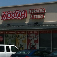 Photo taken at MOOYAH Burgers, Fries & Shakes by Neal R. on 6/25/2012