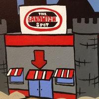 Photo taken at The Sandwich Spot by Davin W. on 4/17/2012