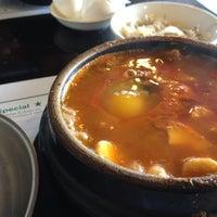 Photo taken at Cho Dang Tofu & BBQ by Jen Y. on 8/3/2012