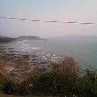 Photo taken at Murud Beach by varun o. on 4/1/2012